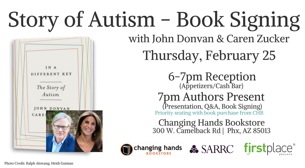 Story of Autism - Book Signing