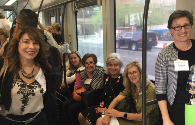 Denise & Group on Train (1)