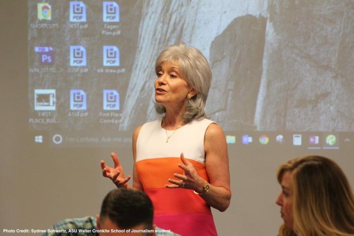 Denise Speaking