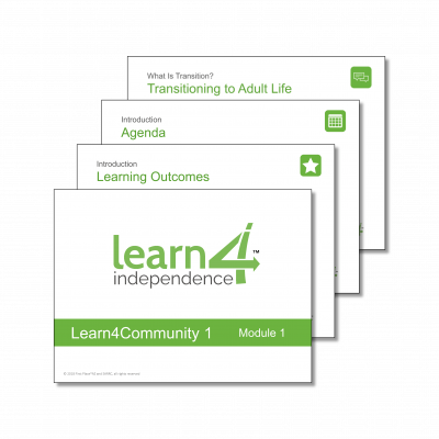 Learn4Independence PPT Preview