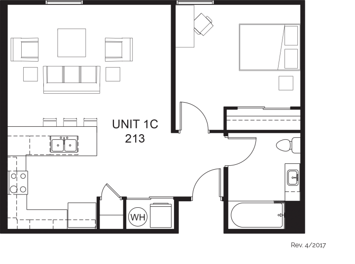 First Place–Phoenix Apartments Floor Plans