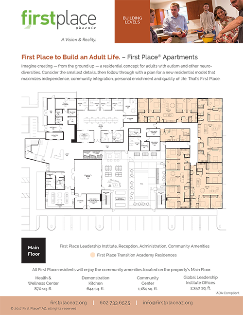 First Place–Phoenix Building Map